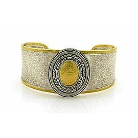 Gurhan Cavalier 24k Gold & Sterling Cuff Bangle Bracelet
