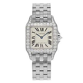 Cartier Santos WF9004Y8 27mm Womens Watch