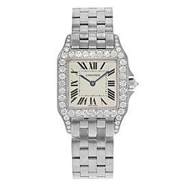 Cartier Santos WF9004Y8 27mm Womens Watch