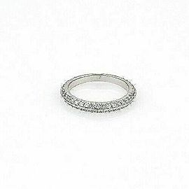 Hearts on Fire Felicity Knife Edge 18k White Gold Band Ring