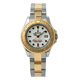 Rolex Yacht-Master 169623 Womens Automatic Watch 18k Two Tone Stainless 29mm
