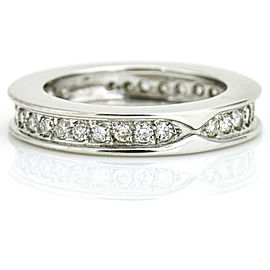 1.00 Carat 18k White Gold Diamond Eternity Band