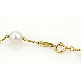 Tiffany & Co. Elsa Peretti Pearls By The Yard 18k Yellow Gold Bracelet