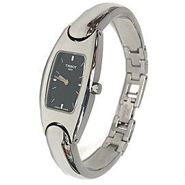 TISSOT 1853 G345 Black Dial Stainless Steel Quartz Watch Women's