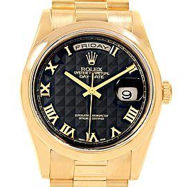 Rolex Day Date 118208 36mm Mens Watch
