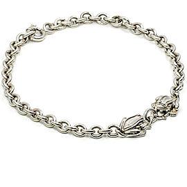 Kieselstein-Cord Sterling Silver Frog Choker Necklace