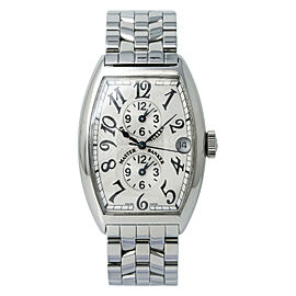 Franck Muller Master Banker 5850 Men's Automatic Watch Stainless Steel 32MM