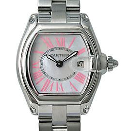 Cartier Roadster 2675 W6206006 Women's Quartz Watch Factory Pearl Dial 32MM