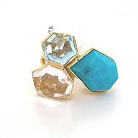 Ippolita Modern Rock Candy Gemstone 18k Yellow Gold Ring