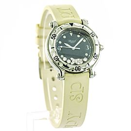 Chopard Happy Diamond Fish Stainless Steel Ladies Sports Watch 27 8921