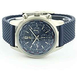 Breitling Transocean Chronograph Men's Watch AB0152 Blue Dial