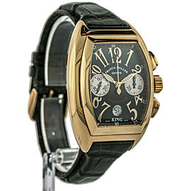 Franck Muller King Conquistador Men's Chronograph Watch 8002 CC 18k Rose Gold