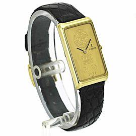 Corum Large Ingot 15 Gram Gold Bar Coin Watch 18k 24k 5540056