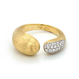 Authentic Marco Bicego Lucia 18k Yellow Gold Diamond Ring Size: 7 »U59 $3000