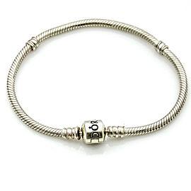 Pandora Sterling Silver Barrel Clasp Charm 590702HV