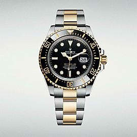 Rolex Sea-Dweller 126603 Men Automatic Watch 18k New Box & Paper 43 mm