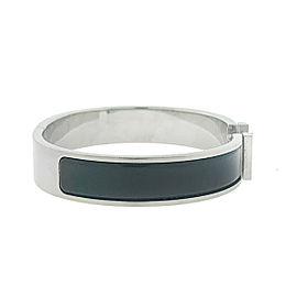 Hermès Clic Clac Noir HH PM Bracelet