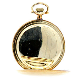 WALTHAM USA Solid 14K Yellow Gold 17J Pocket Watch 67.9 Grams