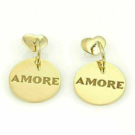 Pasquale Bruni Amore 18k Gold Circular Dangle Drop earrings