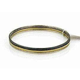 GURHAN Skittle 24k Gold & Sterling Silver Bangle