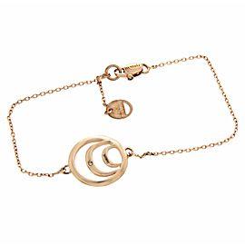 """Auth DAMIANI 9K Rose Gold Diamond Damianissima Bracelet Size 6""""-7"""" $790"""