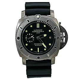 Panerai Luminor Submersible PAM00364 Titanium Mens Watch Box & Papers 47MM