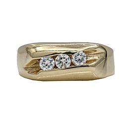 Men's Diamond Band Ring in 14k Yellow Gold ( .35 ct tw )