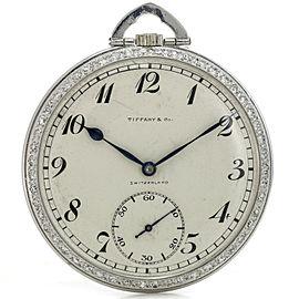 Tiffany & Co. Patek Philippe Platinum Diamond Pocket Watch