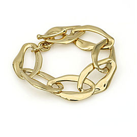 Tiffany & Co. Elsa Peretti Aegean Link Bracelet in 18k Yellow Gold