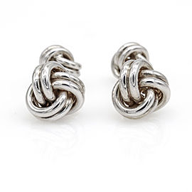 Tiffany & Co. Double Knot Cuff Links in Sterling Silver