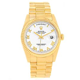 Rolex President Day Date 118238 36mm Mens Watch