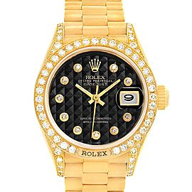 Rolex President 69158 26mm Womens Watch