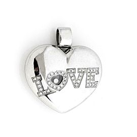Chopard Happy Diamond LOVE Large Puffed Heart Pendant