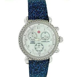 MW Michele Watch CSX Diamond Chronograph Stainless Steel Ladies Watch