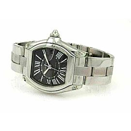 Cartier Roadster Automatic Stainless Steel Reg Size Man's Wrist Watch