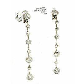 Koesia Italy 18k & Diamonds Ladies Turning discs Long Earrings Rt. $16,580