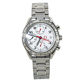 Omega Speedmaster Olympic Collection 3513.20 Chronograph Dial Mens Watch39MM