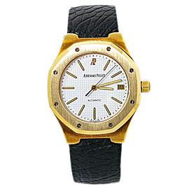 Audemars Piguet Royal Oak 14800BA 18K Yellow Gold Mens Watch 36MM with Box