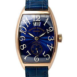 Franck Muller Cintree Curvex Casablanca 2851 S6 Automatic Watch 18k Rose 30mm