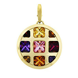 Cartier Pasha Pendant with Gemstones in 18k Yellow Gold