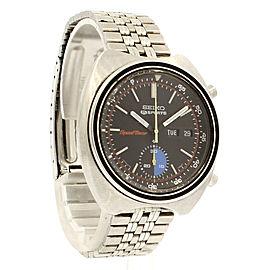 Seiko 5 sports SPEEDTIMER automatic chronograph watch
