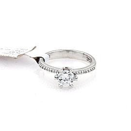 Tacori Diamond Platinum Mounting Only w/Accent Milgrain Ring