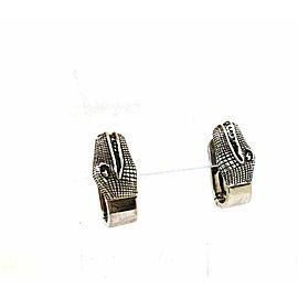 Kieselstein Cord Alligator Motif Sterling Silver Cufflinks