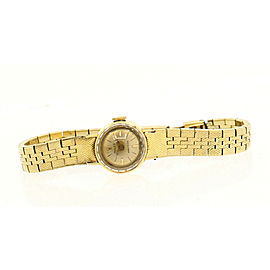 Ladies Vintage ROLEX ORCHID 18k Yellow Gold Dial Watch Circa 1966 23.8g