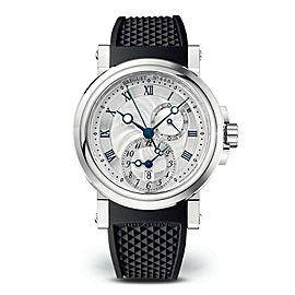 Breguet Marine GMT Dual Time 5857ST Mens Watch 43mm NEW