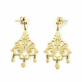 Tiffany & Co. Enchant 18k Yellow Gold Chandelier Dangle Earrings