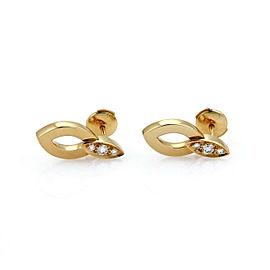 Cartier Diadea Diamond 18k Yellow Gold Earrings