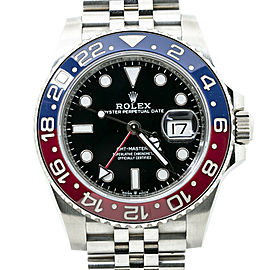 Rolex GMT-Master II 126710BLRO New Mark I Pepsi Automatic Watch Box&Papers 40MM