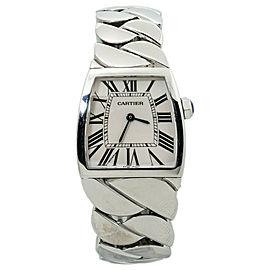 Cartier La Dona de Cartier Large W6600221 Stainless Steel Lady's Watch 28mm