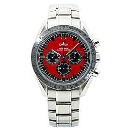 Omega Speedmaster 3506.61 Michael Schumacher Red Mens Automatic Watch 42MM